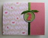 Baby Bunny Card, Pink