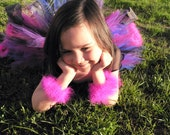 Custom Marabou Wristlets - Set of 2 marabou feather bracelets in your choice of color - get a pair to match your tutu