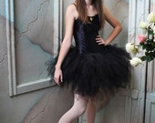 Design Your Own Custom 3 Tiered Pixie Tutu - For Teens and Adults - length up to 20'' - up to 42'' waist