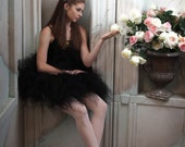 "Design Your Own 3 Tiered Pixie Tutu - For Teens Pre-teens and Adults - Custom SEWN Tutu - up to 20"" long"