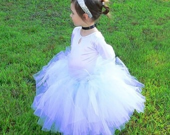 Flower Girl Tutu Skirt for Weddings, Design Your Own Custom Tutu, Choose Any Combination of Colors, Up to 20'' in length, size up to 5T