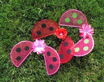 Design Your Own Infant/Toddler Ladybug Wings - newborn to 24 months - Perfect for Halloween - Pair with a tutu to create a fun costume