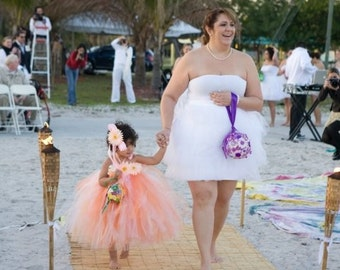 Design Your Own Custom Tutu Dress - Fully Sewn Tutu Dress - can be made in any size up to 5T and 30'' long