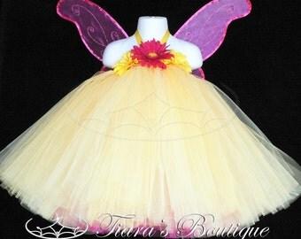 Here Comes The Sun - Custom Sewn Tutu Dress