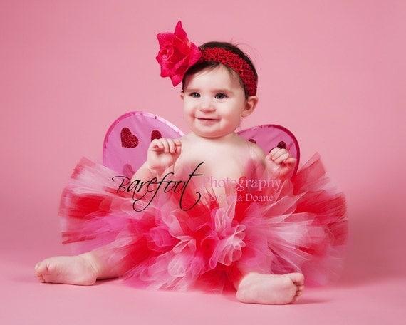 Valentine's Day Tutu Photo Prop, Red Pink Tutu, Sweetheart, Sewn Tutu, Easter Tutu, 1st Birthday Tutu, Girls Babies Tweens, Tulle Skirt