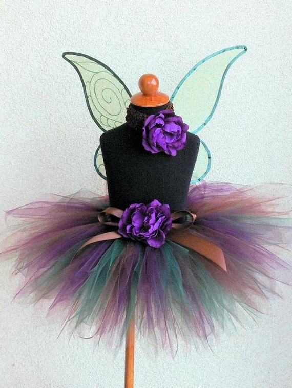 Woodland Beauty - Custom Sewn Tutu - 11'' pixie tutu - MADE-TO-ORDER - sizes newborn up to 5T - tutu only