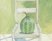 The Melon Chair print