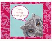 owl always love you notecard