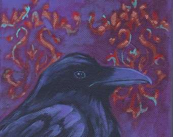 Baroque Raven print