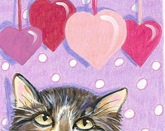 Stop Playing With My Heart blank greeting card