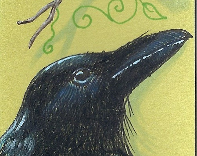 4 Raven and the Blackberry gift tags