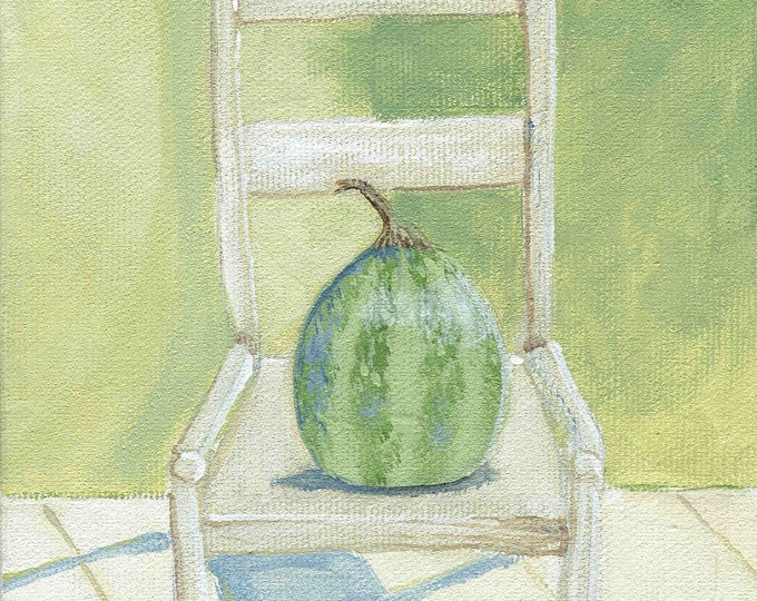 The Melon Chair print
