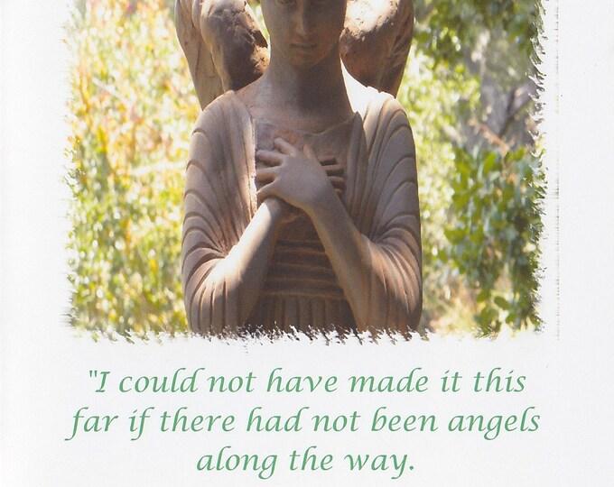 Angel LARGE greeting card