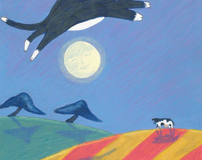 The Cat Jumped Over The Moon notecard