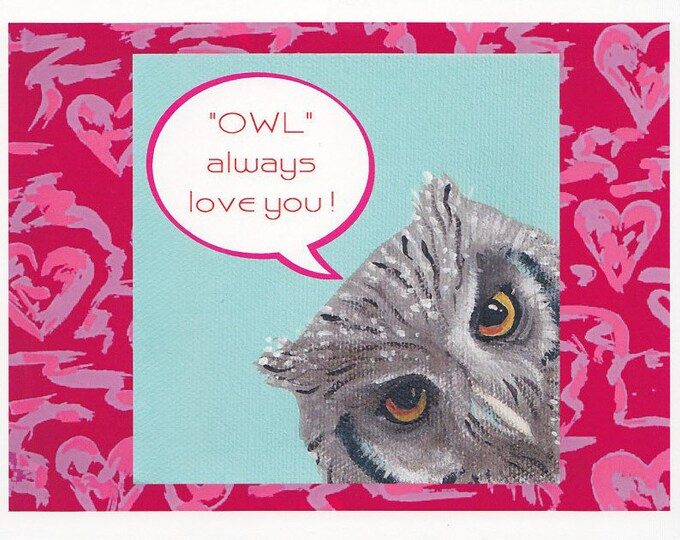 owl always love you notecard