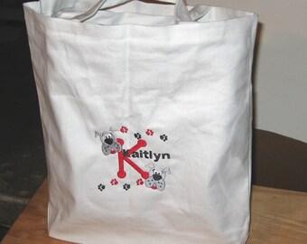 Customized Diaper Bag / Tote Bag Unique Gift Idea