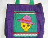 Day of the Dead Small Tote Bag