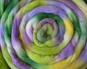 SALE-Spring Bloom- Hand Dyed Merino Top