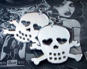 PARAMOUR Mirrored Skull Earrings