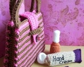 Manicure Set...PDF crochet pattern