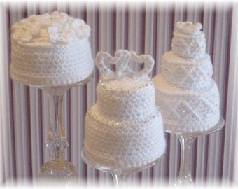 Mini Wedding Cakes...PDF Pattern