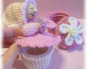 Oh Baby... Surprise Cupcakes...PDF Pattern
