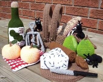 Picnic...PDF Crochet Pattern