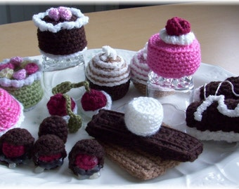 Playtime Pasteries...PDF Crochet Pattern