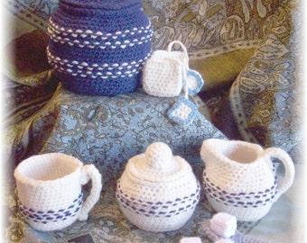 Tea Set... PDF Pattern