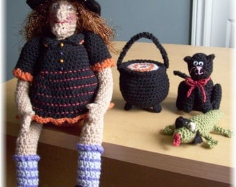 Witch ....PDF Crochet Pattern