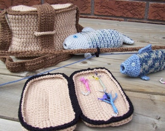Fly Fishin' crochet PDF Pattern