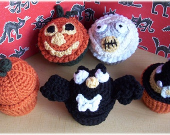 Frightfully Fun Surprise Cupcakes...PDF Pattern