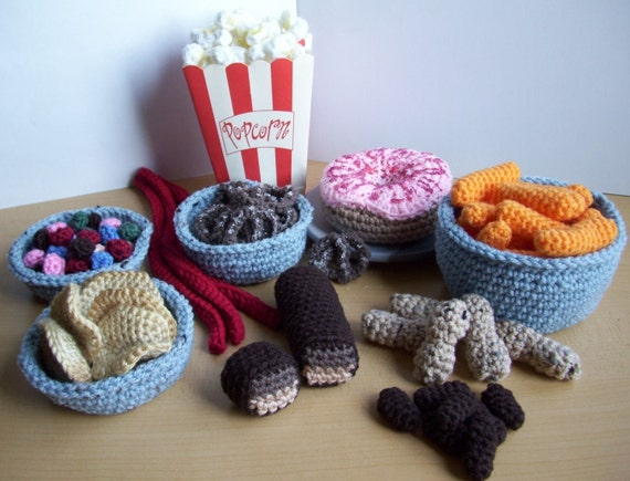 Junk Food...PDF Crochet Pattern