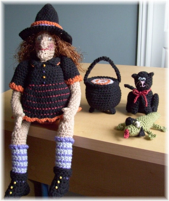Witch Crochet Pattern at Etsy