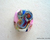 LAMPWORK GLASS FOCAL BEAD - Organic II - FREE SHIPPING for any additional Items.