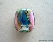 LAMPWORK GLASS FOCAL BEAD - Organic IV - FREE SHIPPING for any additional Items.