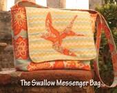 Swallow Messenger Bag Pattern