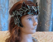 Leafy Fairy Crown in Shades of Green