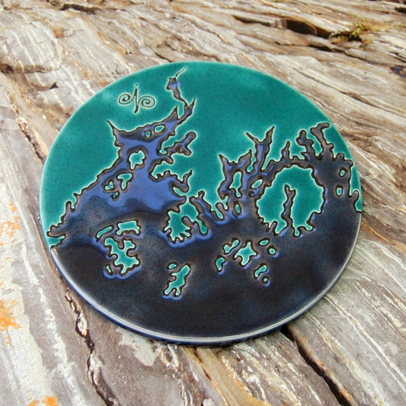 Penobscot and Frenchman Bay Maine Trivet