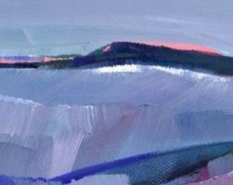A MYSTIC PLACE 13 Original Oil art painting contemporay abstract GalleryWrapped Canvas landscape EBSQ