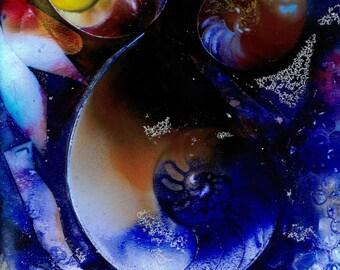 HIDDEN TREASURE 3 Original Contemporary Modern Watercolor art EBSQ