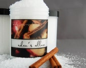 Beauty Bargain - Spiced Apple Cider Bath Salts - EDEN'S ALLURE Spa Soak - Juicy Apples and Autumn Spices Scented Bath Salts