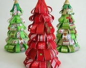 Christmas Candy Cane Ribbon Tree (one tree only)
