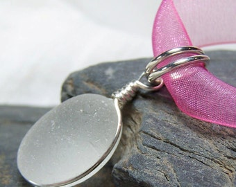 PINK - Sea Glass NECKLACE