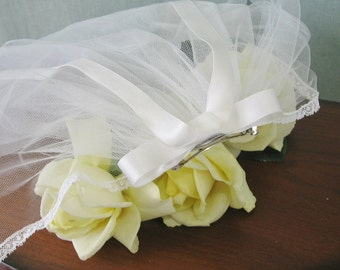 First Communion Veil - Ribbon