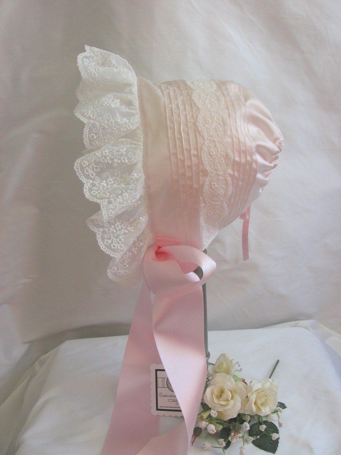 Handmade Baby Bonnet Easter Shower Welcome Gift
