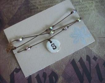 Personalized Wrap Bracelet