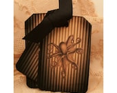 Pinstripe Octopus Tags Dark Steampunk Apothecary