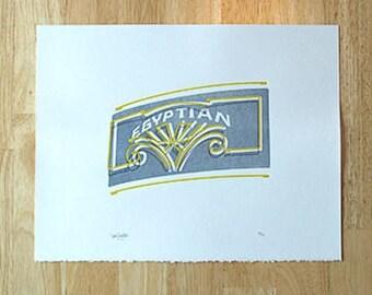 Egyptian — Letterpress Print