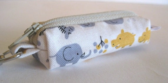 Lip Balm Pouch with Clip